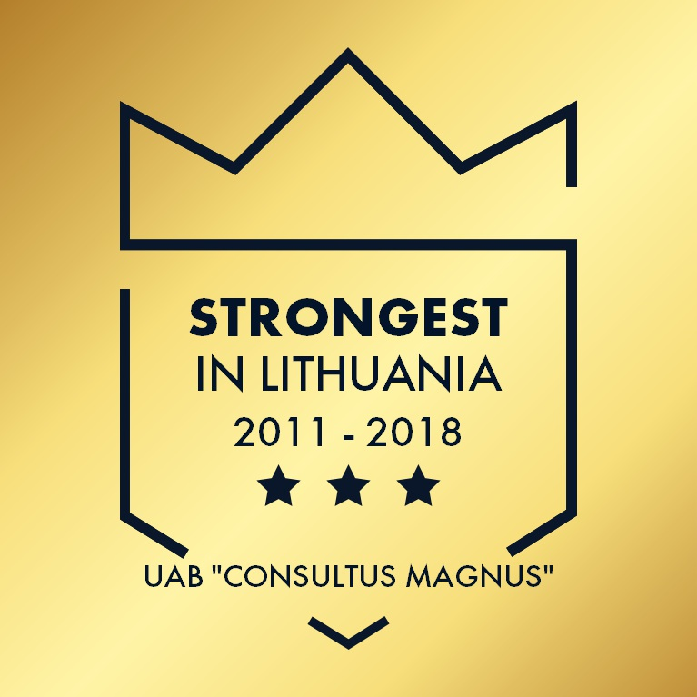 Strongest in Lithuania 2011-2018